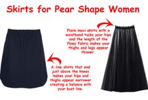 Pear shape body