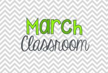 March Classroom