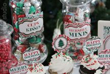 Christmas Cuteness / Everything you need for a super cute, red & green, Damask Christmas's Party! / by Make Life Cute