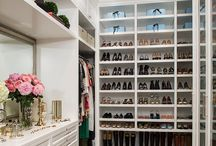 Interiors - Closets and Dressing Rooms / Closets and dressing rooms.