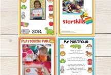 PC portfolio pages