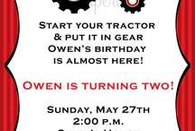 Tractor Birthday Party Ideas / Great ideas for tractor themed kids birthday parties.