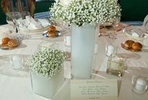 table centerpieces / by Babs Holiday