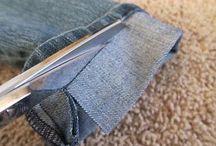 Barra calça jeans