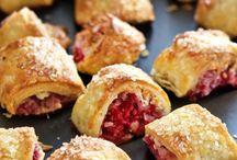 Raspberry/White Cocolate Cakes & Desserts