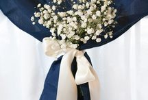 Navy Wedding Decor / Each of these posts is an idea that Hitch can decorate at your wedding! We have all the rentals and wedding planning experience to make it possible.