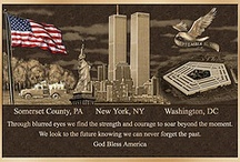 """That September Day... / """"Where were you when the World stopped turning that September Day?""""...Alan Jackson's song lyrics bring to mind the day America was attacked. This board is dedicated to all those who lost their lives and those who looked for survivors on 9/11/2001. We will never forget!!! / by Gail Weeks"""