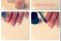 FRENCH MANICURE TUTORIALS / FRENCH MANICURE TUTORIALS