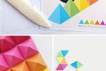 Geometric Pattern Diy Wall Art Triangles