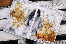 LEMONADE ♥ Art Journal / Smash / Project Life