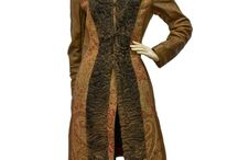 ETRO MILANO Vintage Leather Coat