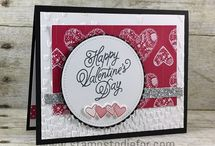 Cards: valentine's day and love / Beautiful cards that have a love or valentine theme. Often will include cards made with Stampin' Up! products.