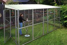 Parrot enclosures