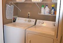L A U N D R Y R O O M / Dècor, cleanliness, and organization for our laundry room