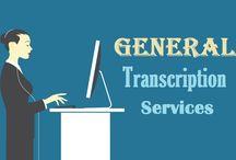 General Transcription Services Resources