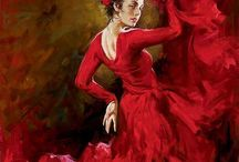 Flamenco in red Andrew