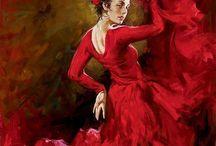 Flamenco in red Andrew
