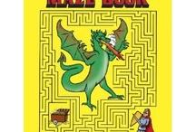 Labirintusok, pontösszekötők / Mazes Dot a dot