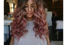 Ombre Hair Rose Gold