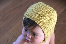 Knitting baby bonnet patterns