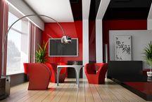 Интерьер / Идеи дизайна дома, красивый и современный интерьер, оформление и обустройство дома или квартиры.