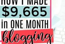 INCOME REPORTS / Making money from home | work from home | income | how to earn money from home | income from blogging | blogging income