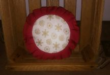 Vánoční polštářky a povlak