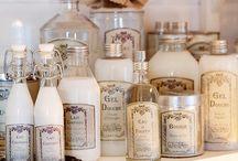 Vintage Bottles / Antique, Old and New Tattered Bottles