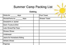 Summer Info / Camp, fun, ideas