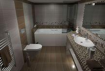 3d Απεικόνιση μπάνιου με την σειρά JOY BEIGE / Τρισδιάστατη απεικόνιση μπάνιου στην Αθηνα με πλακάκια από την σειρά Joy 20x50. Τα συγκεκριμένα πλακάκια έχουν γυαλιστερή επιφάνεια και μπορείτε να τα προμηθευτείτε από το e-bath.net