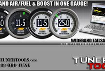 Air/Fuel Ratio Meters, Gauges & Equipment / When it comes to tuning a performance engine right, think air fuel ratio, air fuel ratio, and AIR FUEL RATIO!  got it?   See http://innovate-motorsports.tunertools.com/  or http://plx-devices.tunertools.com/ for more listings.