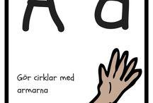 alfabetsrörelser