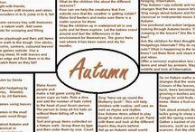 Planning autumn