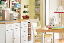 A Place to Create - Craft Rooms / by Kelsey Bohl