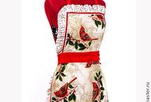 Christmas apron / Christmas apron, made by me with love