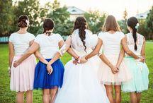 bridesmaids and groomsman / družičky a družbovia