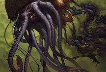 concept art _ fantasy creatures