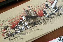 Facade&elevation-mass & sketch