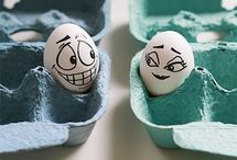 Creative funny Egg photography