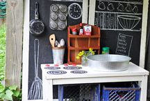 Kids Outdoor Kitchens