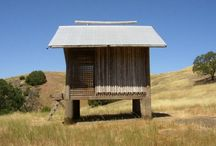 Huts / Thai / bambus huts