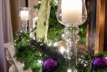 "Christmas - ""PLEASINGLY PURPLE"" / by Bridget Heinz"