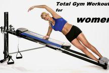 total gym workouts