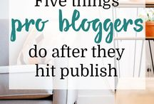 Blogger // Post ideas