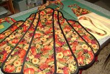 Aprons and apron patterns / by Sylvia