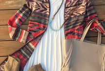 Fall Autumn wardrobe / Boots, denim and flannel