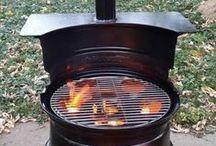 Bålpanne/grill