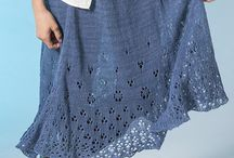 Knitting dresses, skirts, tunics