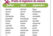 Fruits et légumes jolis