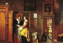 dutch interior paintings